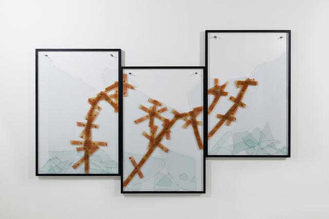 , 'Ato de ... 5 (triptico),' 2014, Galleria Continua