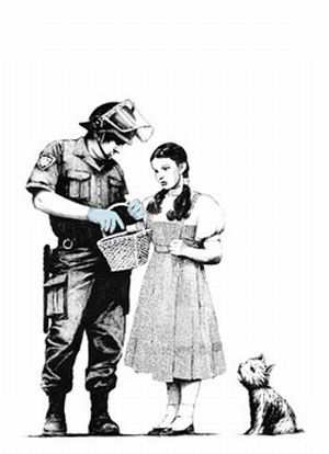 Banksy, 'Stop and Search', 2007, Vogtle Contemporary