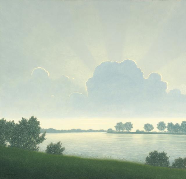 Felix Heuberger, 'Morning atmosphere at Attersee', 1933, Galerie Kovacek