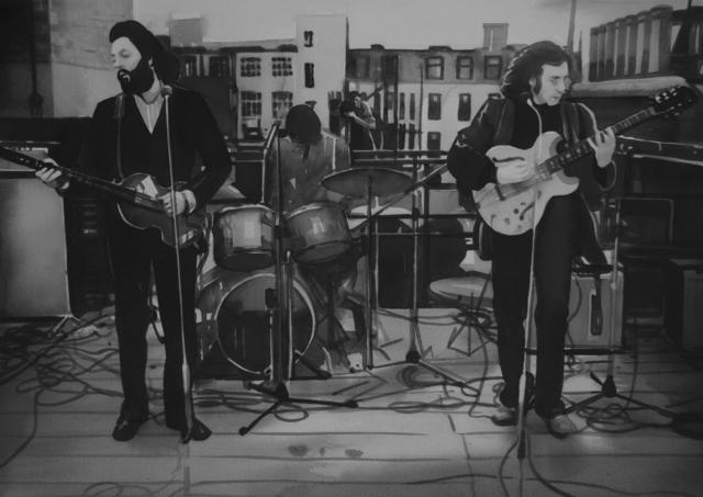 Radenko Milak, 'The Beatles' rooftop concert (#28)', 2018, PRISKA PASQUER
