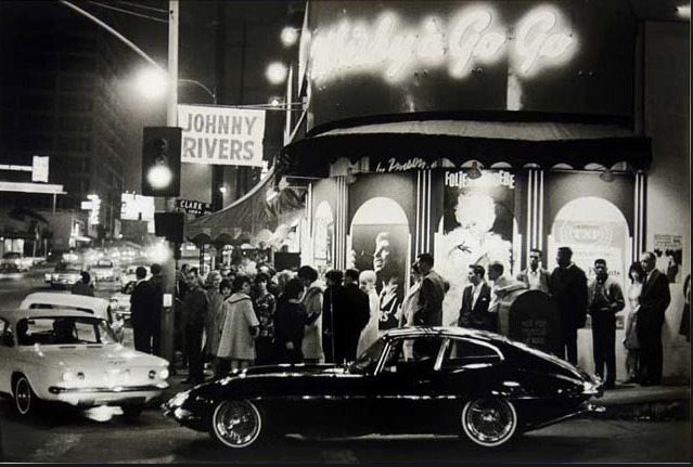 Julian Wasser, 'Whisky A-Go-Go, Los Angeles, CA 1964', 1964, Mouche Gallery