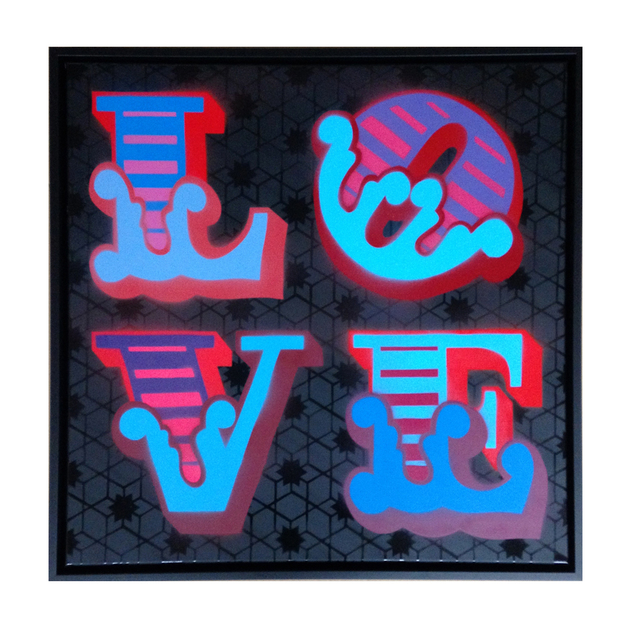 , 'LOVE,' 2015, StolenSpace Gallery