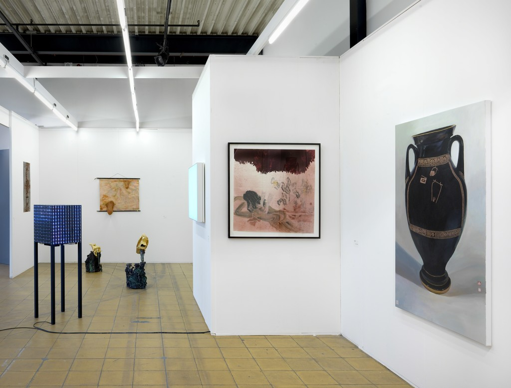 Galerie Fons Welters at Art Rotterdam 2017. Photo: Gert Jan van Rooij