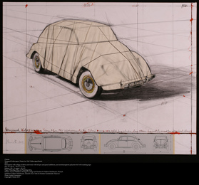 Wrapped Volkswagen (Project for 1961 Volkswagen Beetle Saloon)