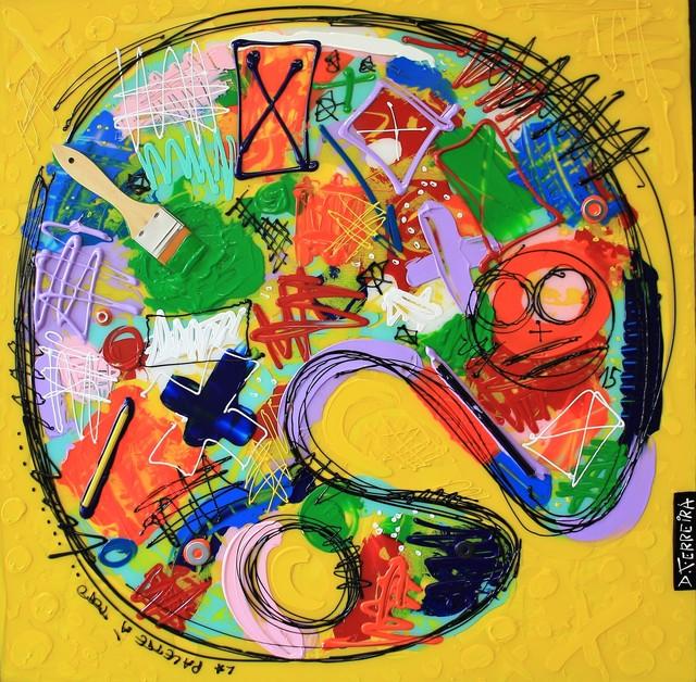 , 'Palette à Toto,' 2017, Bouillon d'Art Galerie