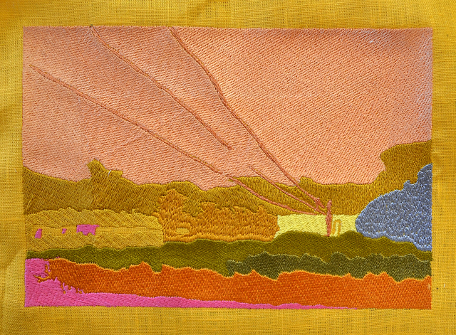 , 'Embroidered Landscape no. 1,' , Dedee Shattuck Gallery