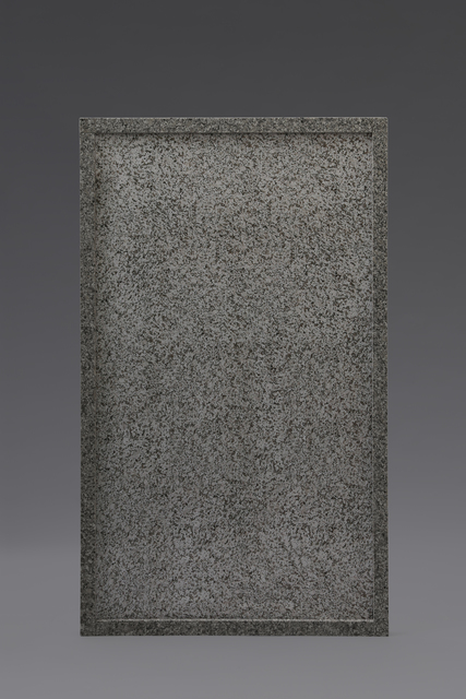 , 'Granite Wall Piece,' 2016, Etage Projects