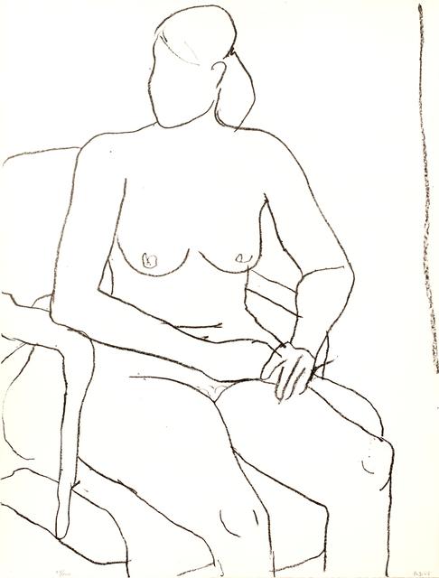 Richard Diebenkorn, 'Seated Nude', 1965, Zuleika Gallery