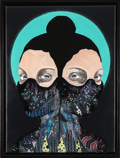 , 'modern icon I,' 2017, heliumcowboy