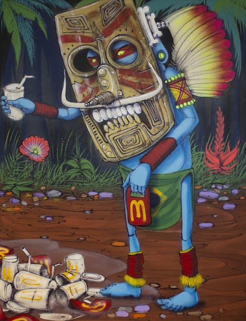 CRANIO Fabio de Oliveira Parnaiba, 'Destruindo a maldade', 2018, Vertical Gallery