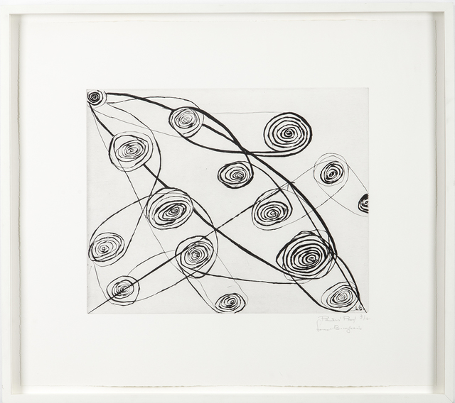 Louise Bourgeois, 'Untitled (safety pins)', 1991, Marlborough Graphics