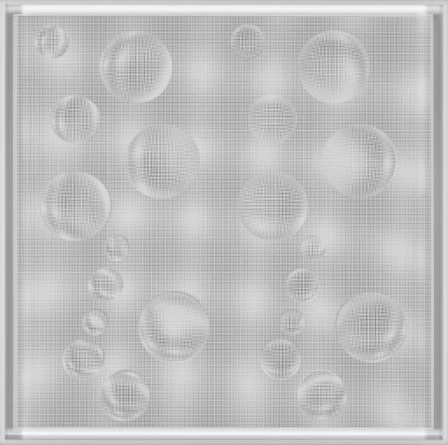 , '22 Esferas en Ondas (Blanco),' 2011, Art Nouveau Gallery