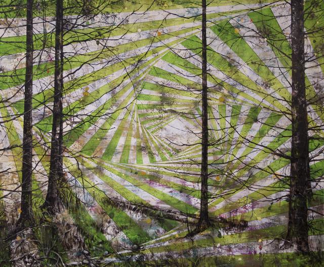 , 'Rolling Hills,' 2017, Galerie Hervé Lancelin