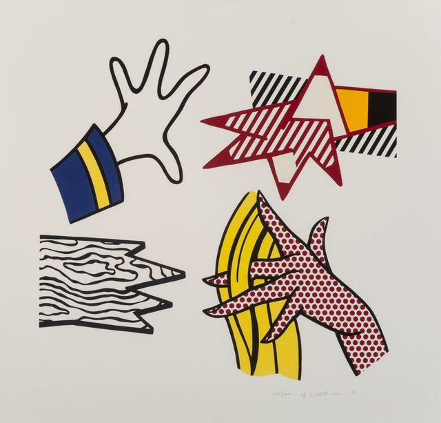 Roy Lichtenstein, 'Study of Hands', 1981, Heritage Auctions
