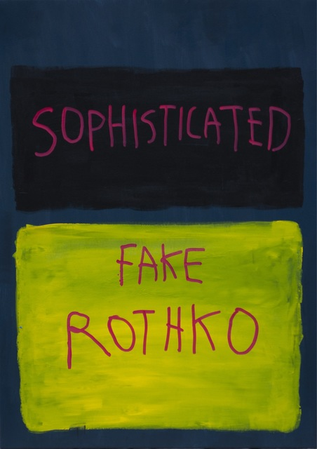 , 'Sophisticated Rothko,' 2018, One Arts Club