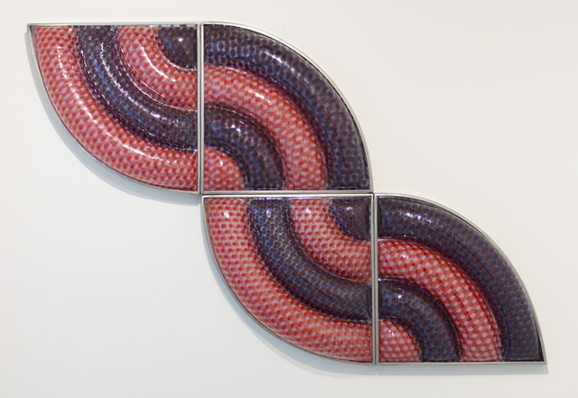 , 'Four Red and Brown Pie,' 1998, Eric Firestone Gallery