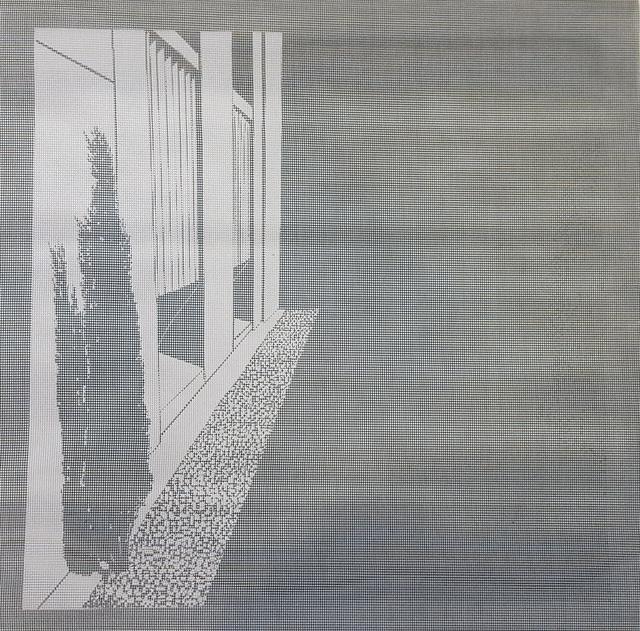 Elizabeth Ferrill, 'Illusion #8', 2018, Print, Rubylith screen print on wire mesh, Michael Warren Contemporary