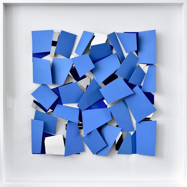 Christian Megert, 'Blaues Scherbenobjekt', 2017, SETAREH