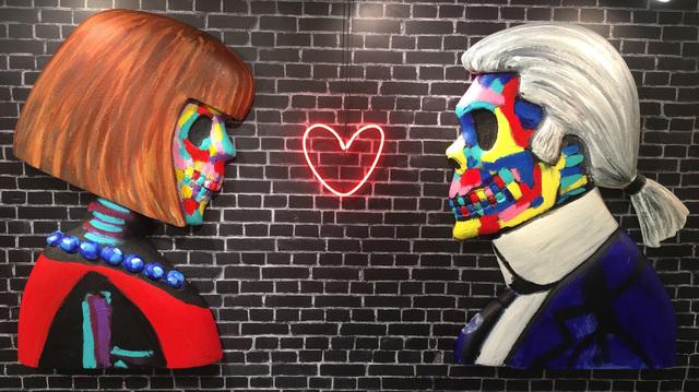 , 'Karl & Anna Face Off, Installation,' 2016, ACA Galleries