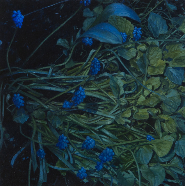 , 'Muscari,' 2017, Flowers