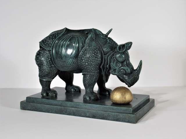 Salvador Dalí, ' Rhinoceros Habille En Dentelles', 1956, Joseph Grossman Fine Art Gallery