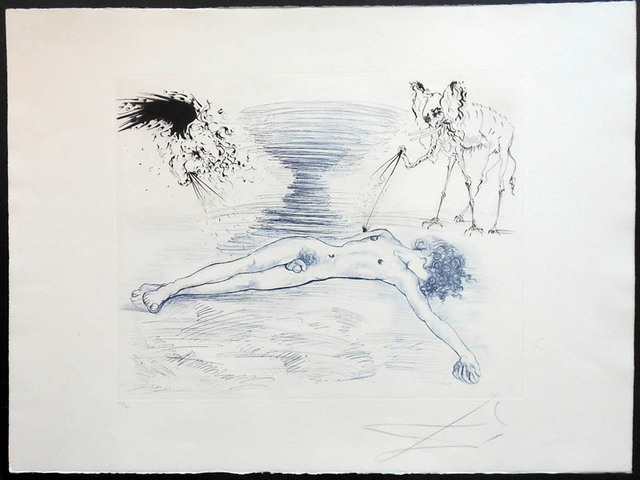 Salvador Dalí, 'Hypnos', 1965, Puccio Fine Art