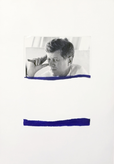 , 'Stracciafotografia (JFK #3),' 2016, MATÈRIA