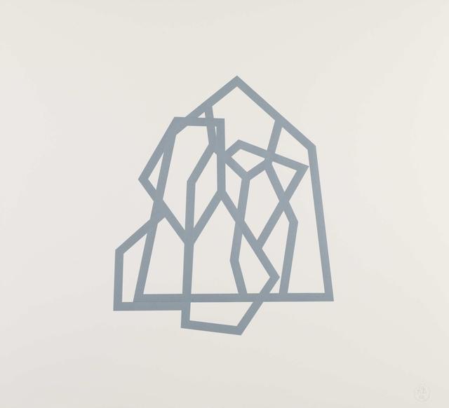 Richard Deacon, 'Bamako (Blue 20)', 2011-2012, Paragon