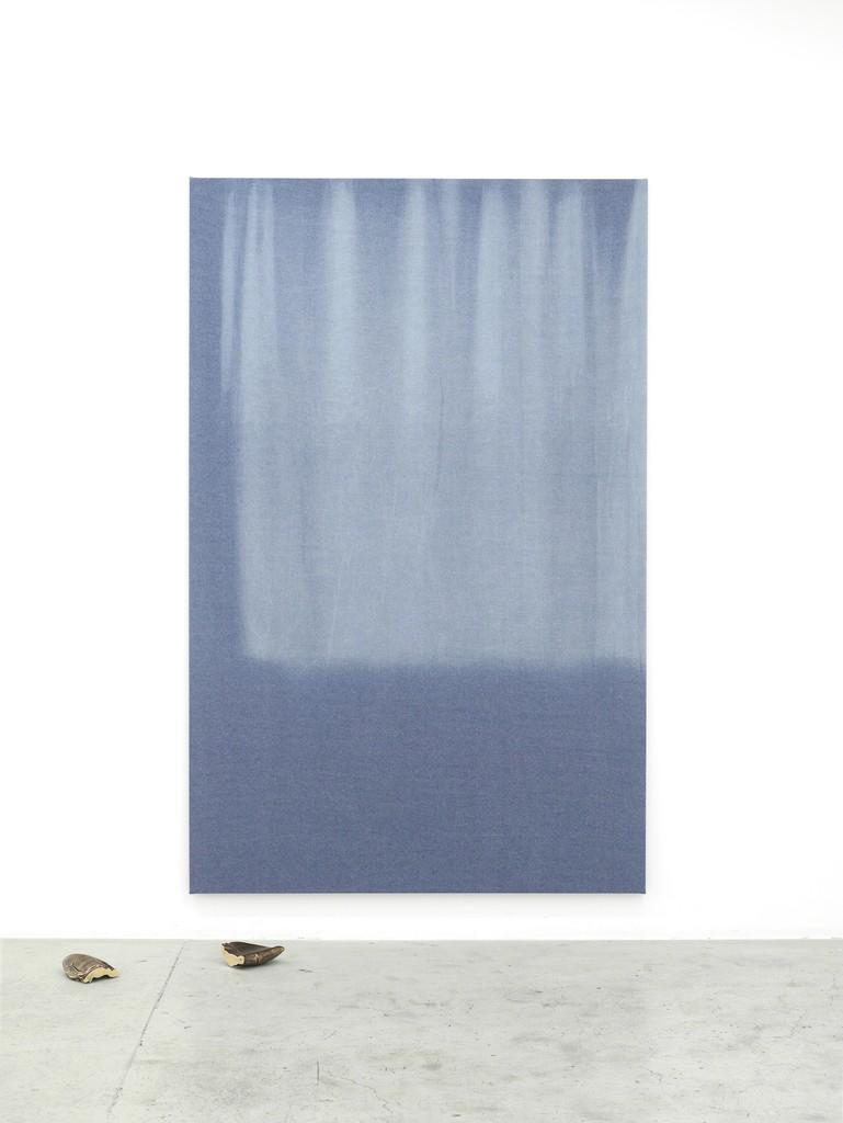 Marie Lund, Installation view, Dip, Laura Bartlett Gallery, London, 2014