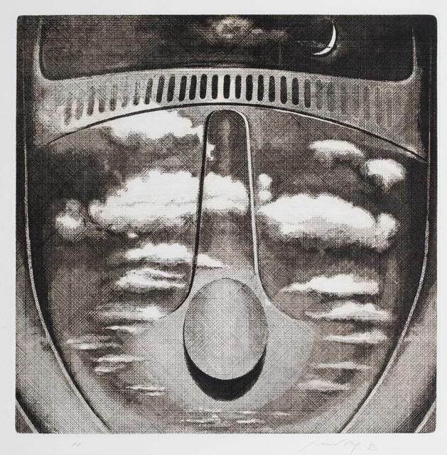 Piero Guccione, 'Volkswagen', 1983, Print, Etching, Finarte