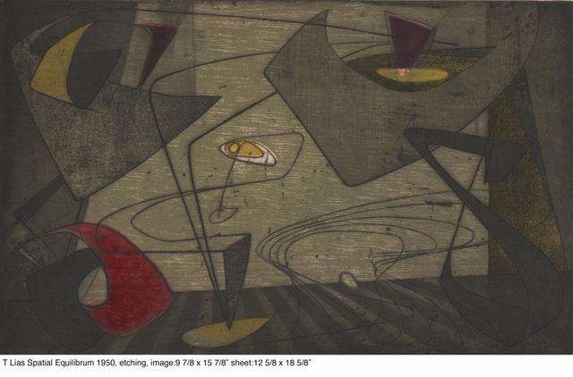 , 'Spatial Equalibrium 1950,' 1950, Dolan/Maxwell