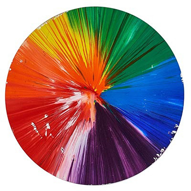 Damien Hirst, 'Circle Spin Painting, 2009', 2009, Eternity Gallery