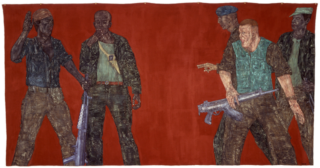 , 'Mercenaries IV,' 1980, Museo Tamayo