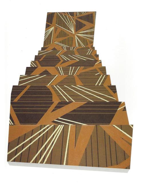 , 'descending staircase, southwestern hotel,' 2016, Miller Yezerski Gallery