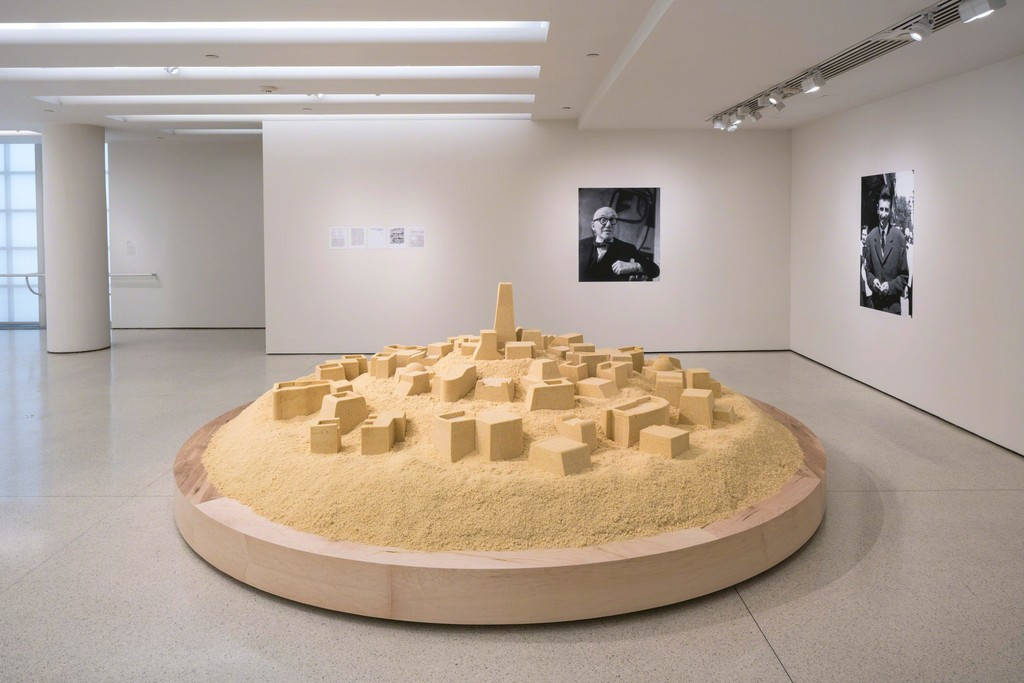 Installation View: But a Storm Is Blowing from Paradise: Contemporary Art of the Middle East and North Africa, Solomon R. Guggenheim Museum, New York, April 29–October 5, 2016 Photo: David Heald