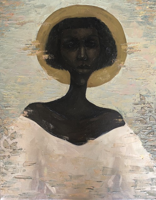 Chidinma Nnoli, 'Daughter (Nwa Nwanyi)', 2020, Painting, Oil on Canvas, Rele