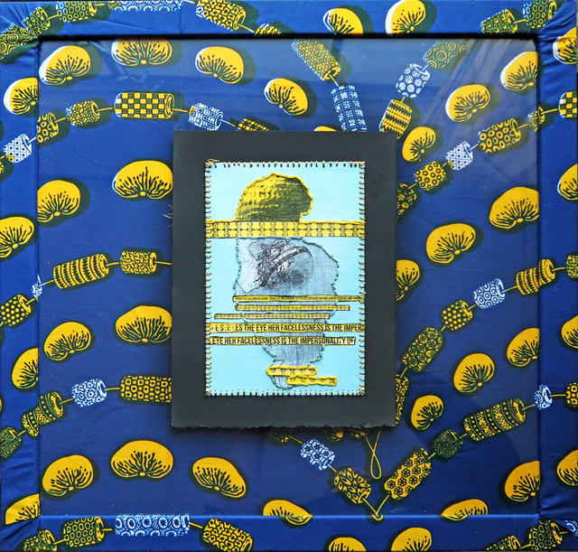 , 'Paglia's Venus (Blue & Yellow),' 2017, Coagula Curatorial