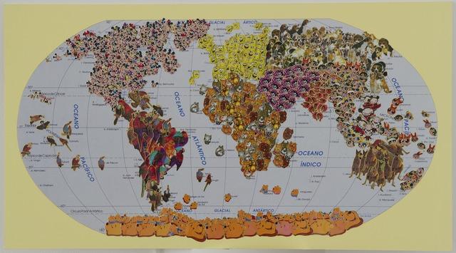 , '4 oceans,' 2014, Galerie Gabrielle Maubrie