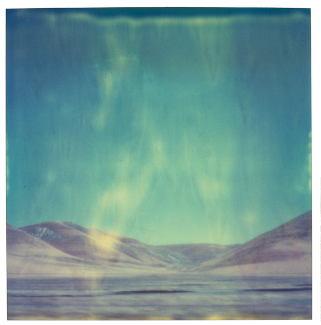Stefanie Schneider, 'Blue Mountains - analog, mounted', 1999, Photography, Analog C-Print, hand-printed by the artist on Fuji Crystal Archive Paper, based on a Polaroid, mounted on Aluminum with matte UV-Protection, Instantdreams