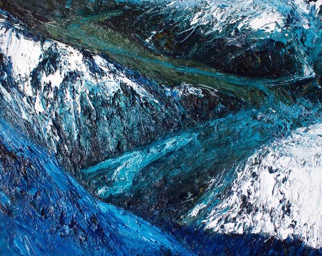 , 'Ramsay Glacier, Terminal Lake,' 2017, Rebecca Hossack Art Gallery
