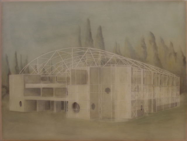 , ' Untitled 5500 (Stadium of Győr),' 2014, Ani Molnár Gallery