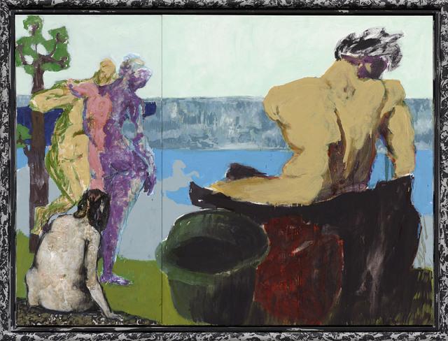 , 'Arkadien - 3 Nornen (Arcadia – 3 Norns),' 2013, Michael Werner Gallery