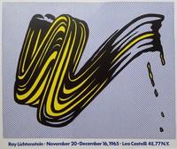 Roy Lichtenstein, Brushstroke: Leo Castelli Gallery