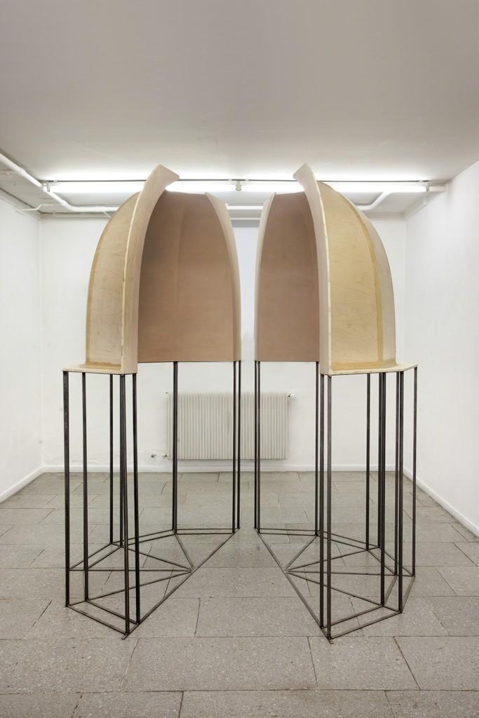 "Eva Steen Christensen: Observatroy. Installationview, front of ""Observatory""."
