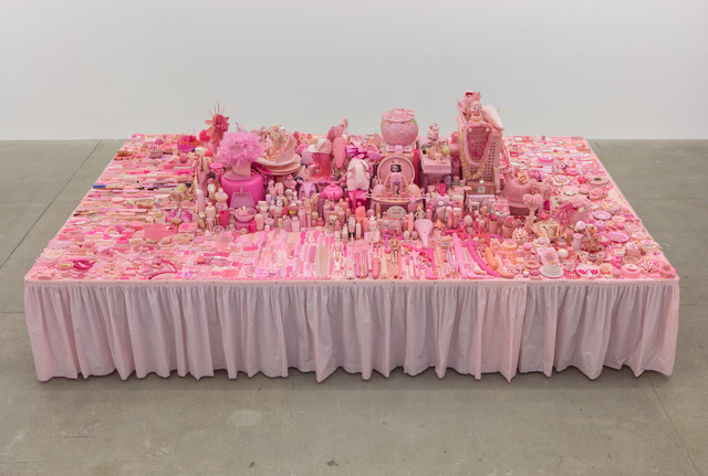 , 'Pink Project: Table,' 2016, P.P.O.W