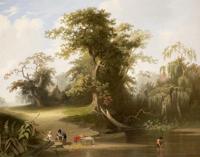 , 'Landscape: Rural Scenery,' 1845, Godel & Co.