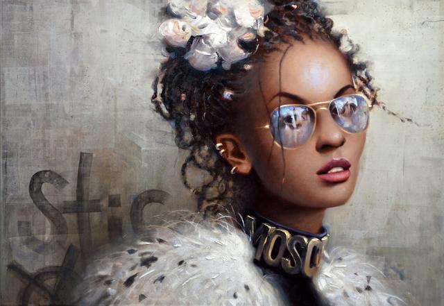 , 'Lens Flare,' 2018, Galerie LeRoyer