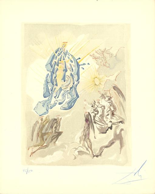 Salvador Dalí, 'Heaven Canto 24', 1960, Print, Woodblock, ArtWise