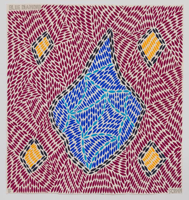 , 'Blue Diamond,' 2015, Hans Alf Gallery