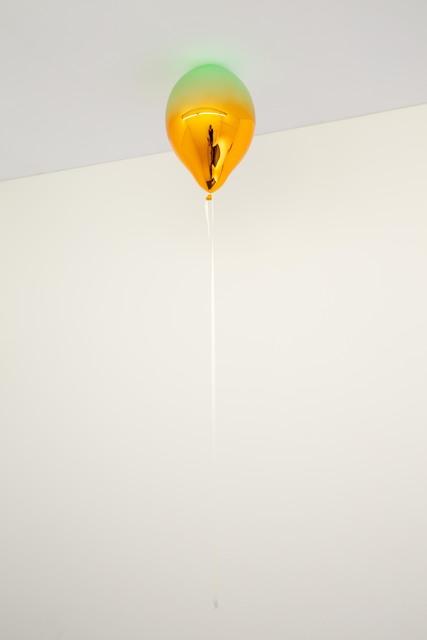 , 'Light Green and Medium Orange Mirror Balloon,' 2019, Galleri Nicolai Wallner